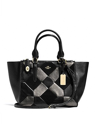 Coach Crosby Carryall in Patchwork Leather