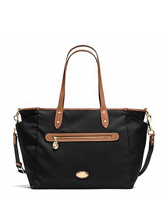 Coach Sawyer Baby Bag in Canvas Twill