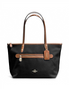 Coach Sawyer Shoulder Tote in Polyester Twill