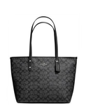 Coach Signature Print City Tote
