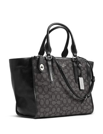 Coach Crosby Carryall in Signature Print Jacquard Fabric