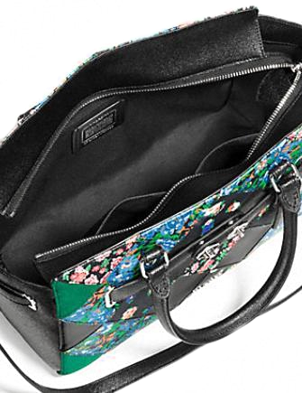 Coach Blake Carryall in Floral Patchwork Leather
