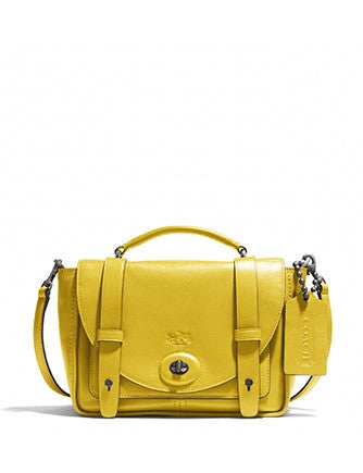 Coach Bleecker Mini Brooklyn Messenger in Smooth Leather