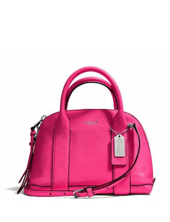Coach Bleecker Mini Preston Satchel In Pebbled Leather