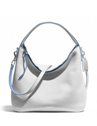 Coach Bleecker Sullivan Hobo In Edgepaint Pebbled Leather
