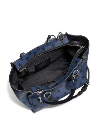 Coach Crosby Mini Carryall in Floral Printed Crossgrain Leather