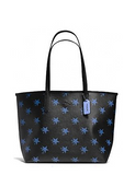 Coach Canyon City Star Coated Canvas Tote