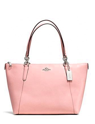 Coach Ava Crossgrain Leather Tote