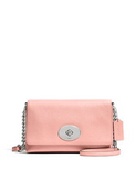 Coach Crosstown Crossbody In Polished Pebble Leather