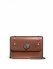 Coach Bowery Crossbody In Signature Canvas With Rainbow Studs