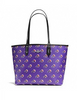 Coach Bramble Rose Reversible City Tote