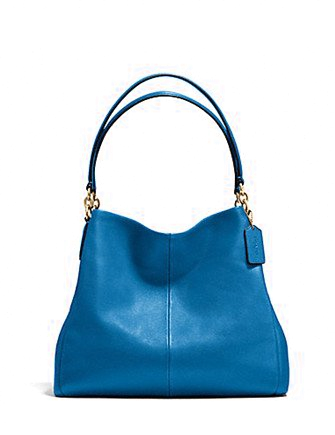 Coach Pebble Leather Phoebe Shoulder Bag