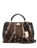 Coach Top Handle Gramercy Printed Calf Hair Satchel
