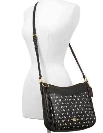 Coach Butterfly Print Chaise Crossbody