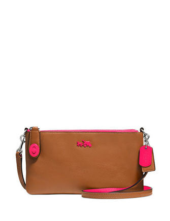 Coach Herald Crossbody in Polished Pebble Leather