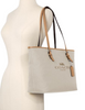 Coach Canvas City Zip Tote