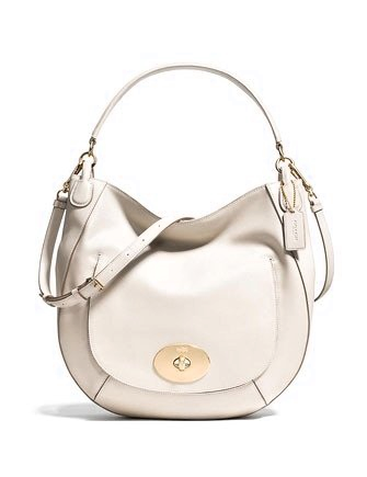 Coach Circle Hobo Bag in Smooth Calf Leather