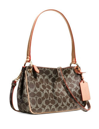 Coach Charley Crossbody in Signature Print Canvas