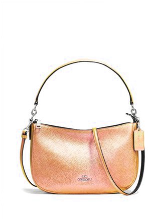 Coach Chelsea Crossbody in Hologram Leather