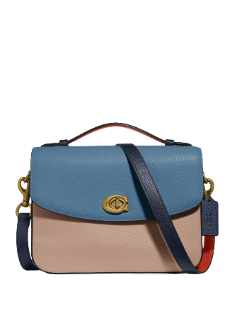 Coach Colorblock Cassie 61 Leather Crossbody