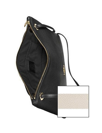 Coach Convertible Chain Crossbody In Pebble Leather