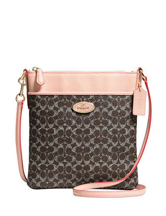 Coach Courier Crossbody in Signature Printed Canvas