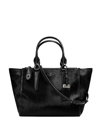 Coach Crosby Carryall Satchel In Haircalf Leather