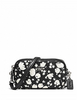Coach Crossbody Pouch in Calico Floral Print Leather