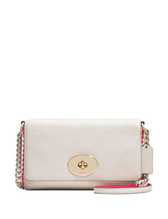 Coach Crosstown Crossbody in Whiplash Pop Lacing Leather