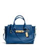 Coach Swagger Carryall In Pebbled Leather