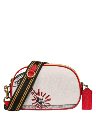 Coach Disney Mickey Mouse X Keith Haring Badge Camera Crossbody