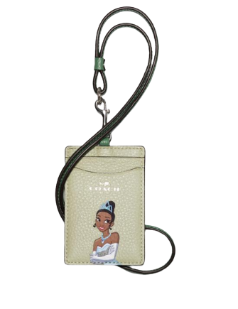 Coach Disney X Coach Id Lanyard With Tiana