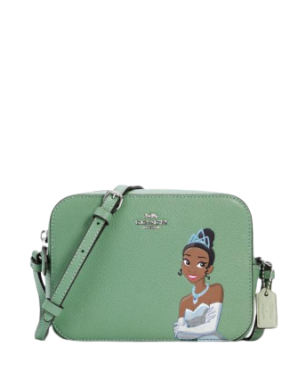 Coach Disney X Coach Mini Camera Bag With Tiana