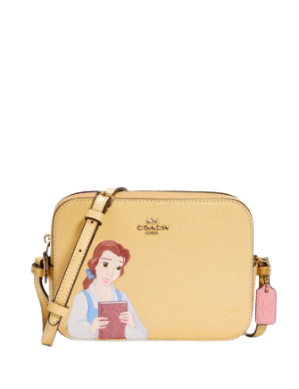 Coach Disney X Coach Mini Camera Bag With Belle