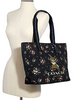 Coach Disney X Coach Tote With Rose Bouquet Print and Thumper
