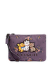 Coach Disney X Gallery Pouch With Rose Bouquet and Aristocats
