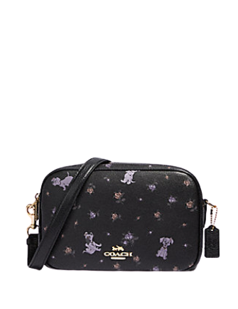 Coach Disney X Jes Crossbody With Dalmations Print