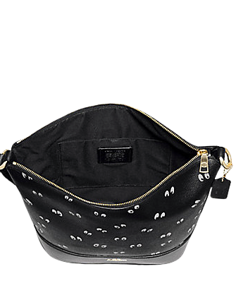 Coach Disney X Paxton Duffle With Snow White and The Seven Dwarfs Eye Print