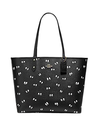 Coach Disney X Reversible City Tote in Snow White Eye Print
