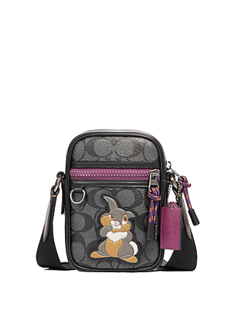 Coach Disney X Terrain Crossbody in Signature Canvas With Thumper