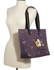 Coach Disney X Tote With Rose Bouquet Print and Aristocats
