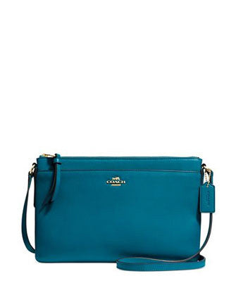 Coach East West Swingpack in Smooth Leather