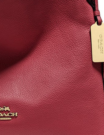 Coach Edie Shoulder Bag 31 In Refined Pebble Leather
