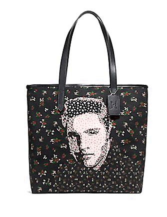 Coach Elvis Floral Canvas Tote