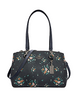 Coach Etta Carryall With Rose Bouquet Print
