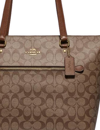 Coach Gallery Tote In Signature Canvas