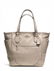 Coach Mickie Tote in Caviar Grain Leather