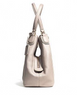 Coach Edie Shoulder Bag in Colorblock Pebbled Leather