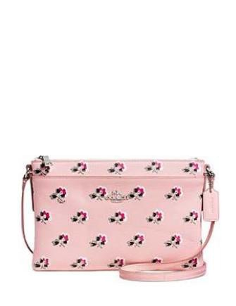 Coach Journal Crossbody in Floral Print Leather
