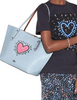 Coach Keith Haring Sequins Heart Market Tote